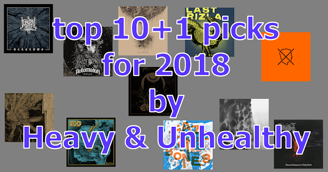 10+1 release picks for 2018 by 'Heavy & Unhealthy'
