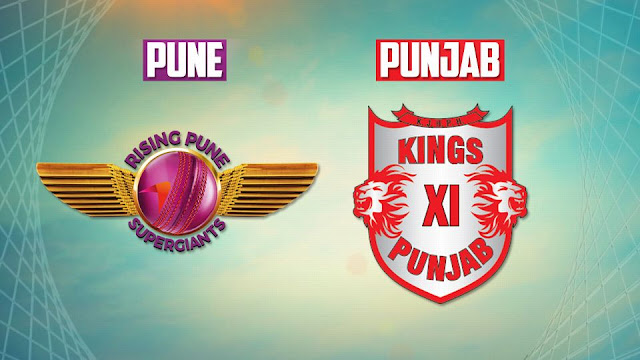 IPL 2017 KXIP vs RPS Highlights Live Streaming