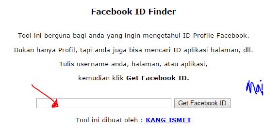 cara cari ID Facebook, cara dapatkan ID Facebook