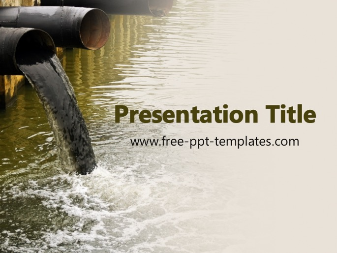 pollution powerpoint templates free download