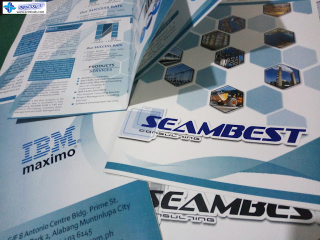 Brochures for Seambest Consulting, Alabang, Muntinlupa