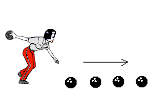 Learning rectilinear motion with sports