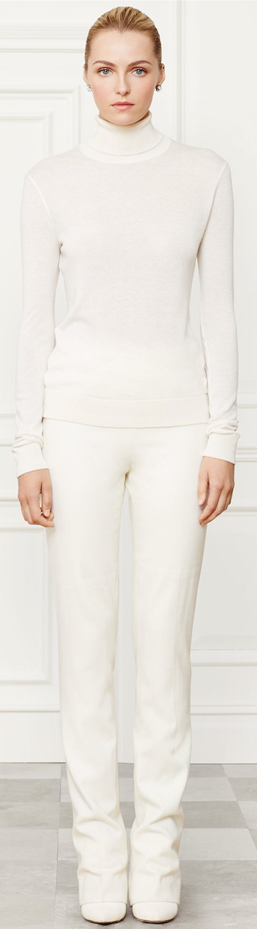 Ralph Lauren Funnelneck Sweater Fall 2014 Collection