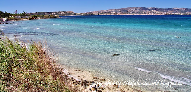 Fanari Beach, Argostoli Kefalonia
