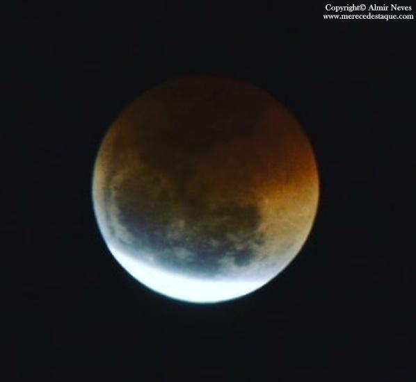 """Único eclipse lunar total de 2019 será visível no Brasil e terá """"superlua de sangue"""""""