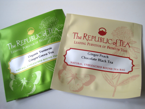 Tea With Friends: New ginger-flavored teas from Republic of Tea