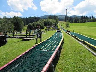 Summertubing am Buron-Kinderpark