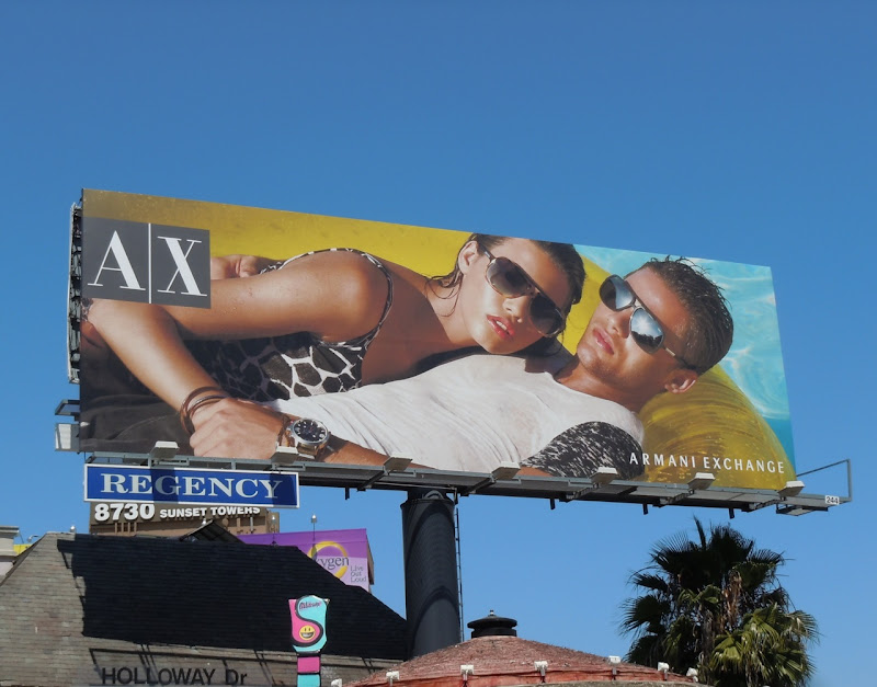 AX eyewear 2011 billboard