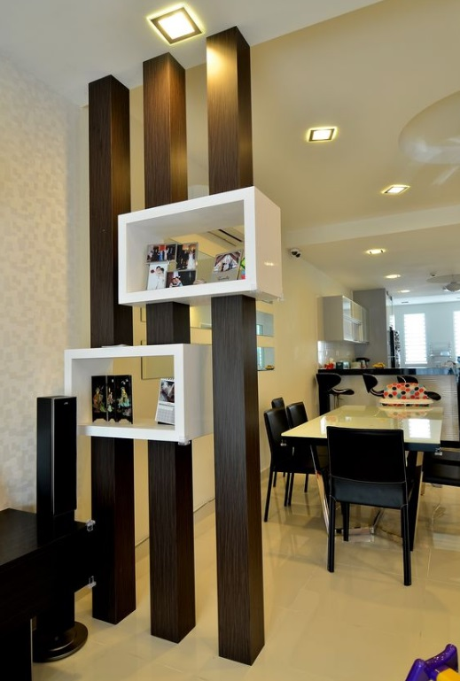 50 Desain Partisi Ruang Tamu Dan Ruang Keluarga Minimalis
