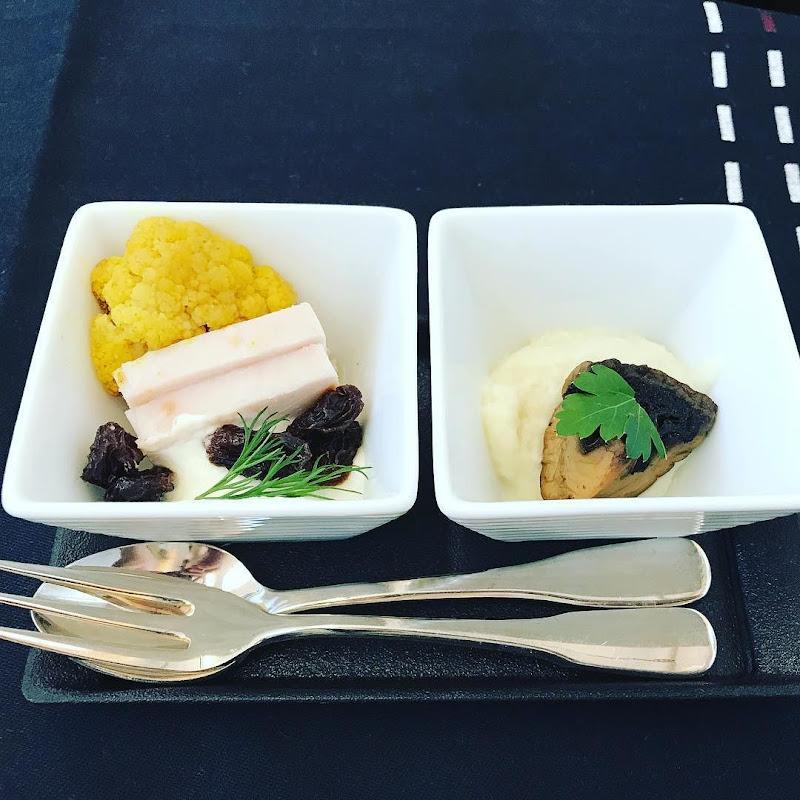 2017年10月下旬:JAL772(JL772) オーストラリア・シドニー=東京・成田 ビジネスクラス搭乗時の機内食内容