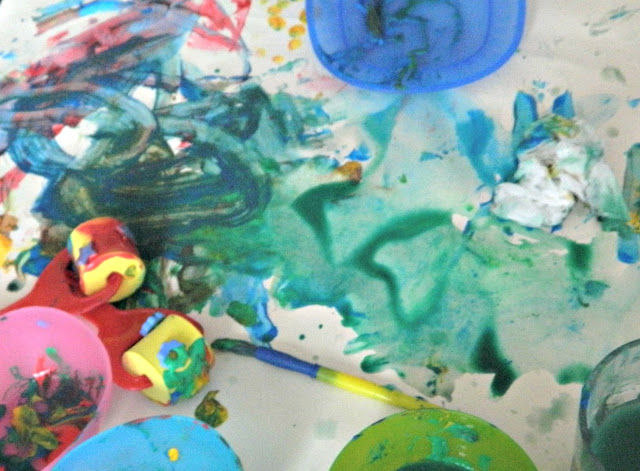 Toddler Painting Creative Messy Play