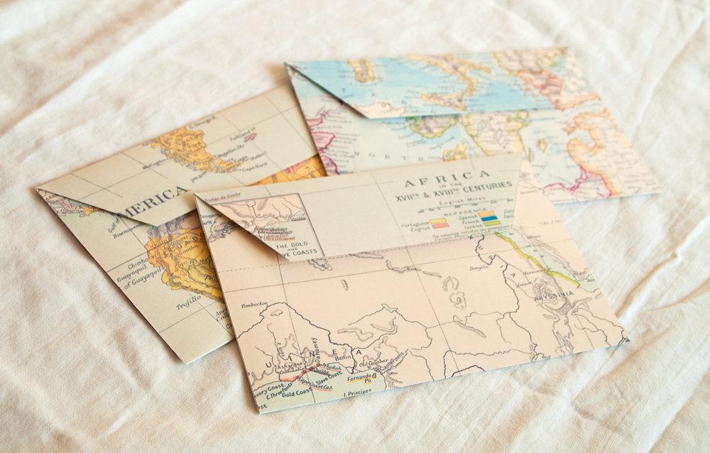 Днем, открытка из карты своими руками