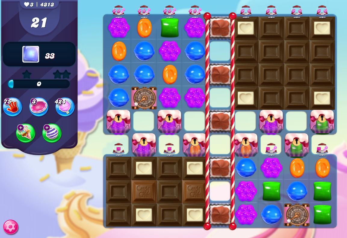 Candy Crush Saga level 4313