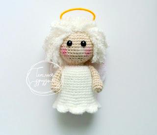 Easy Crochet Angel Amigurumi Free Pattern | 274x320