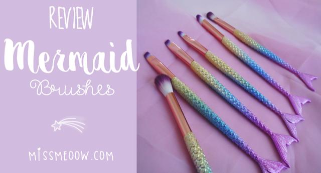 Mermaid Brushes + Haul | Parte 1