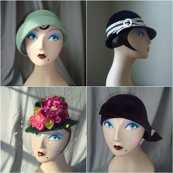 lady eve millinery vintage inspired hats
