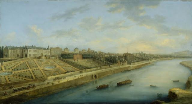 Vue de Passy par Grevenbroeck - 1743 - Musée Carnavalet