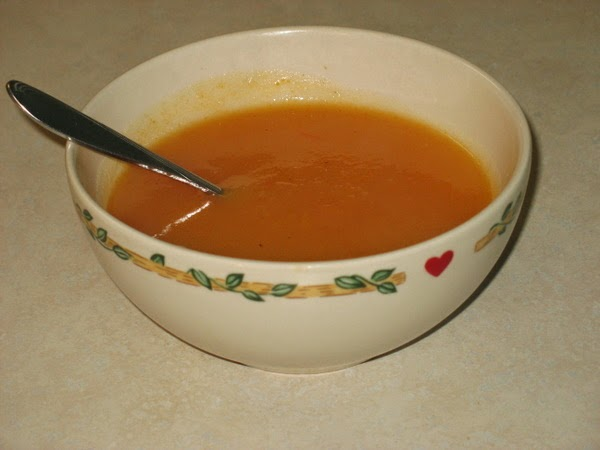 super fast vegetable soup