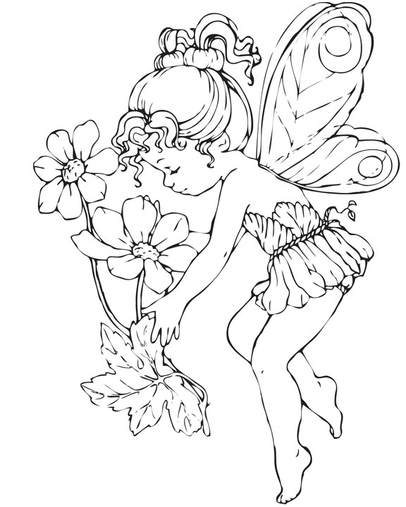 farytale princess coloring pages - photo#19