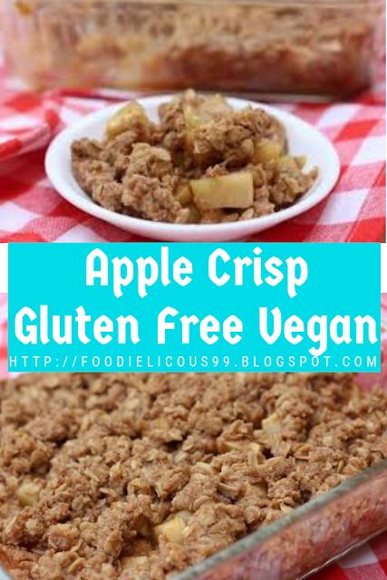 Apple Crisp Gluten Free Vegan