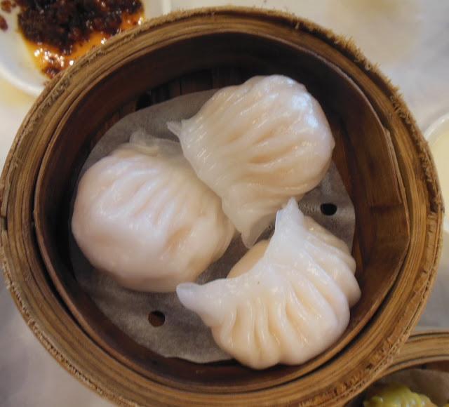 Gold Leaf, Docklands, prawn dumplings