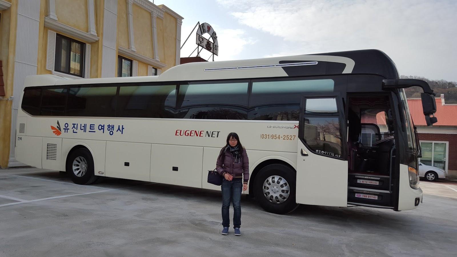 韓國遊覽車