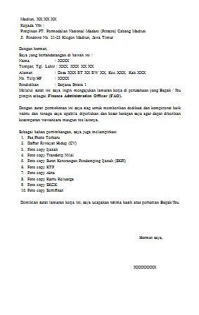 Contoh Surat Pernyataan Pegawai Karyawan dan PNS