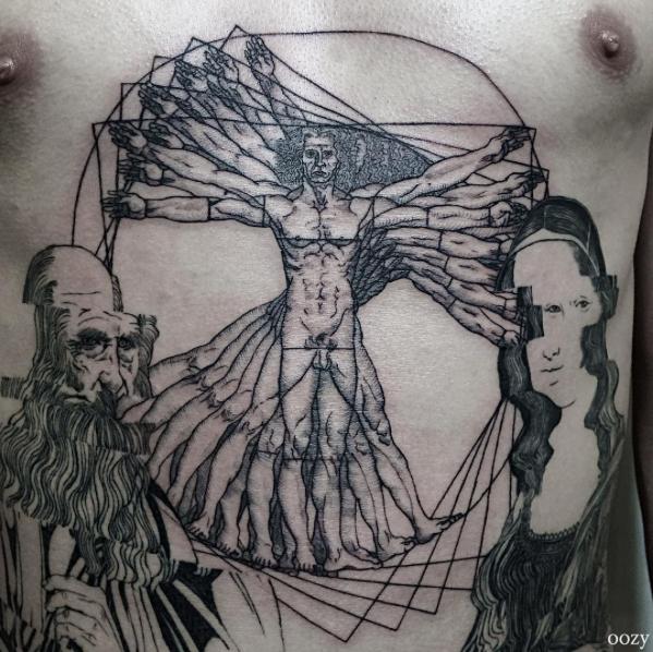 Dame Mas Tinta Que Quiero Morir Tatuajes Inspirados En Leonardo Da