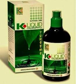 Klorofil Liquid K-Link pasti murah di Madu Herbal