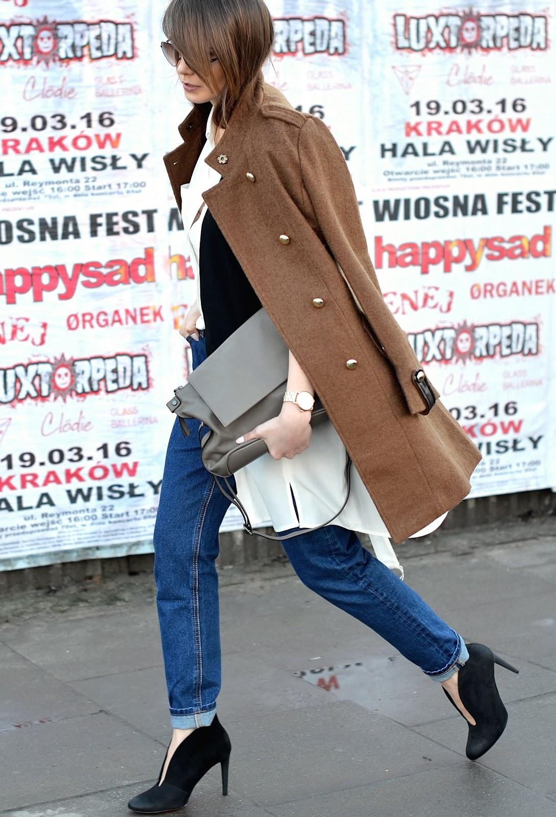 welniany plaszcz | blogi modowe | blogerka modowa | casual na co dzien| jak wygladac stylowo