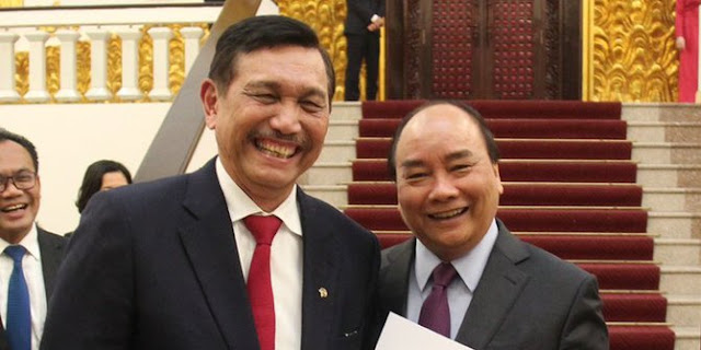 Tak Masuk Tim, Luhut Malas Bahas Kriteria Cawapres Jokowi
