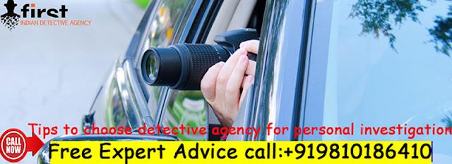 Detective Agency in Delhi, Private Detective Agency