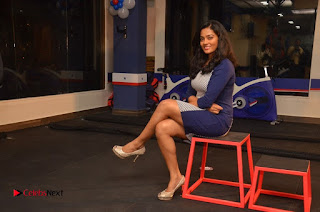 Actor Aadhi And Actress athrie Inaugurated F45 Fitness Studio Stills  0064
