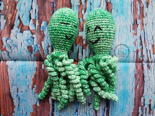 Zielone ośmiornice