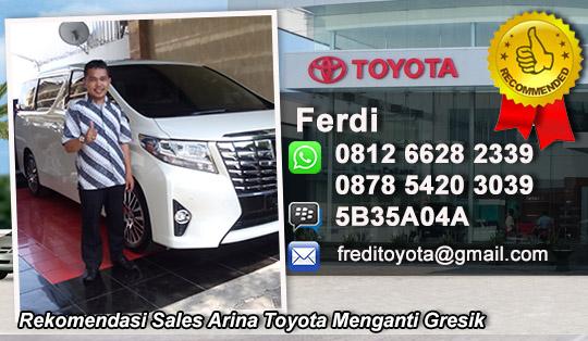 Rekomendasi Sales Toyota Menganti Gresik