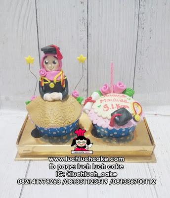 Cupcake Kado Wisuda Isi 2