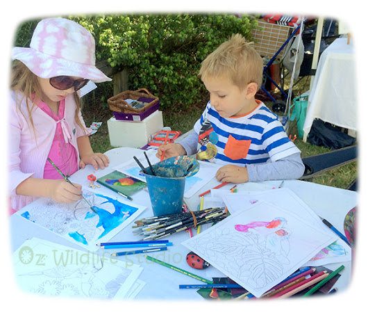 Creative Colouring at the Indigi Day Out