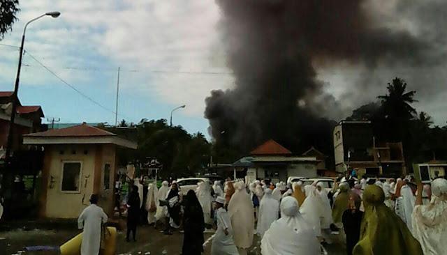 Satu Unit Kios Milik Warga Ludes Terbakar