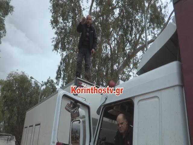 Συγκλονιστική μαρτυρία οδηγών φορτηγών από την Νεμέα και το Ναύπλιο που εγκλωβιστηκαν από τις πλημμύρες