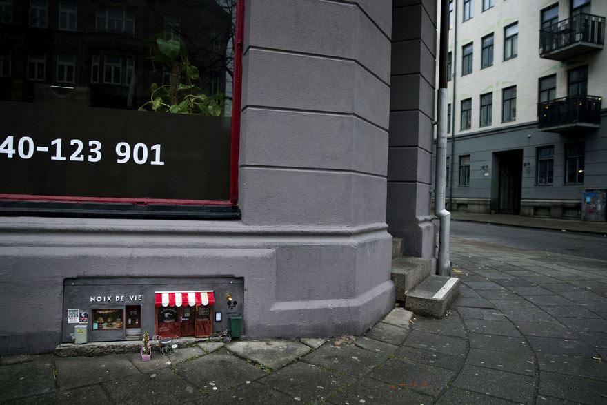 Anonymouse abrió tiendas para ratones en Suecia