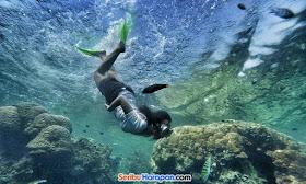 snorkeling asik pulau tidung