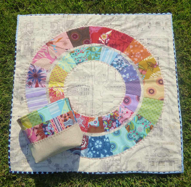 AMH Mini Quilt by Heidi Staples of Fabric Mutt
