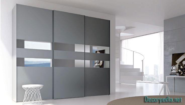 Modern sliding wardrobe design ideas for bedroom