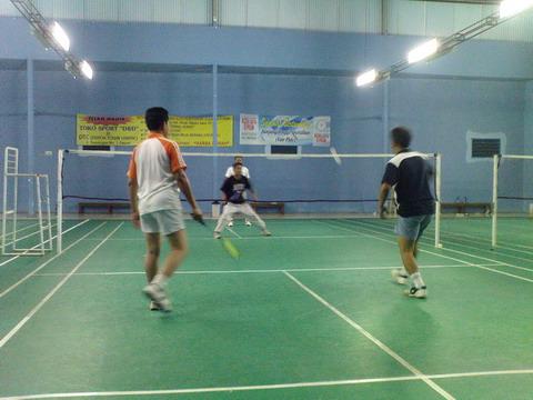 Latihan Badminton Siri Ke-2 di The Challenger