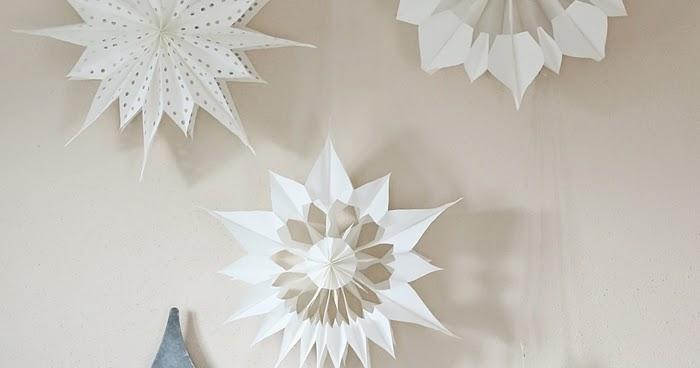 diy weihnachtliche papiersterne aus butterbrott ten fashion kitchen. Black Bedroom Furniture Sets. Home Design Ideas