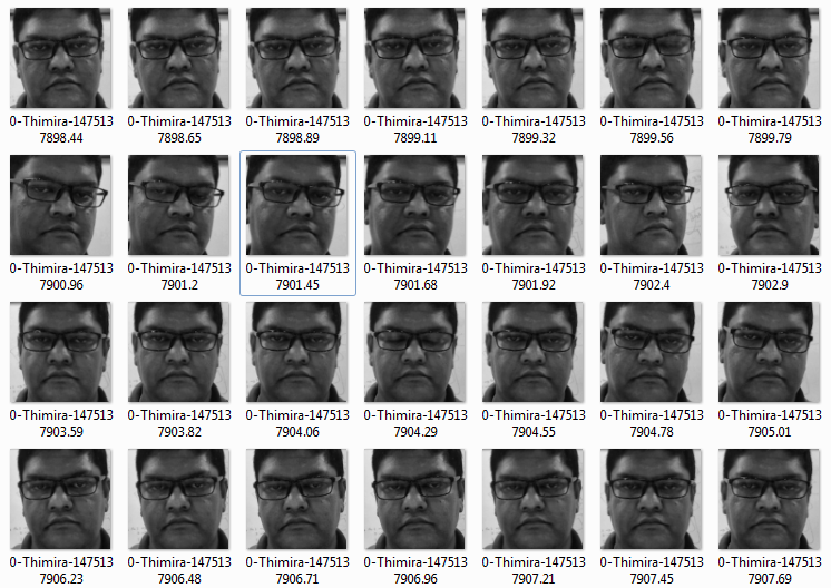 Codes of Interest: Getting the LeNet model working with Face