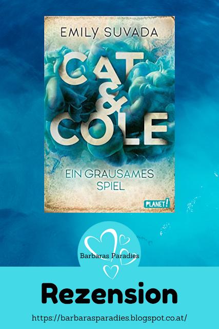 Buchrezension #263 Cat & Cole 2 Ein grausames Spiel von Emily Suvada