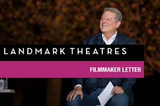 An Inconvenient Sequel_Al Gore's Letter to Landmark Theaters