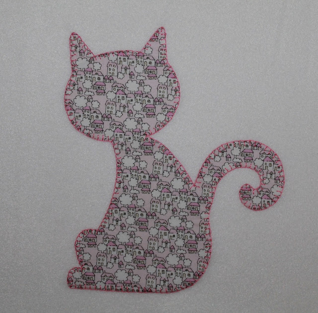 manta bebe personalizada rosa con gato