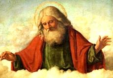 Imagen de Dios en los cielos